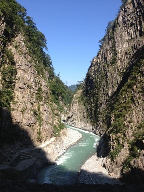 日本3大渓谷~清津峡~