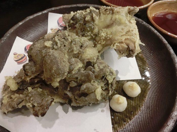 9月の特別料理~石坂まいたけの天ぷら~