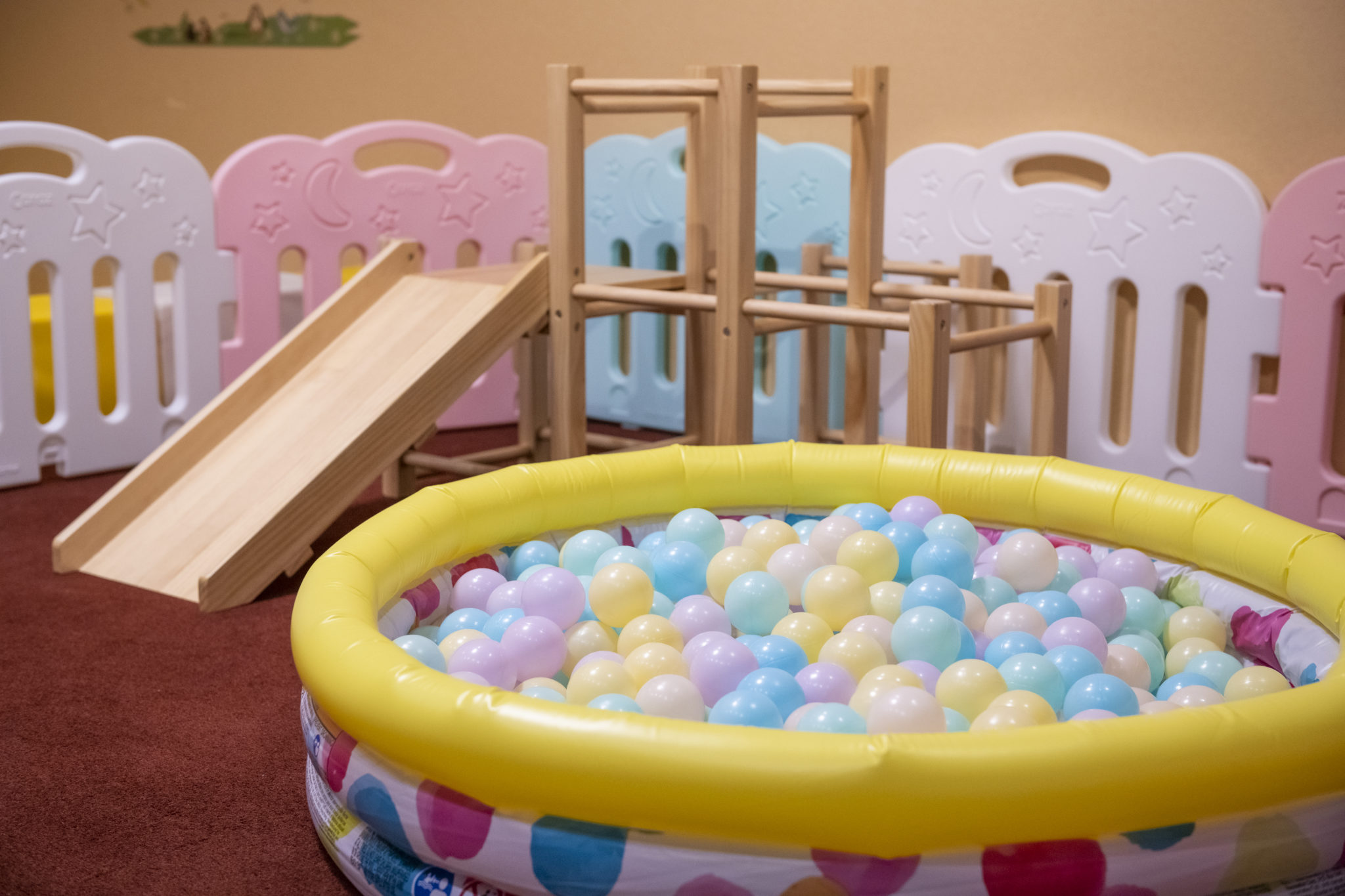 花月のキッズルームは大人も子供もホッとできる♪