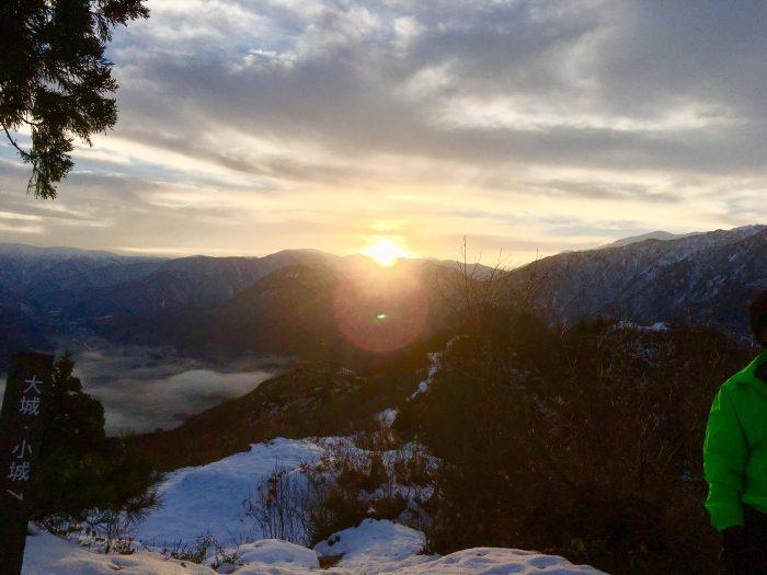 坂戸山からの風景~雲海~