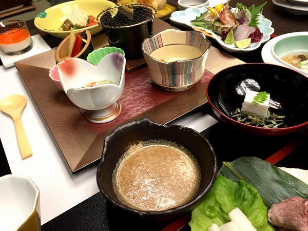 『厳選会席料理』初夏の献立。