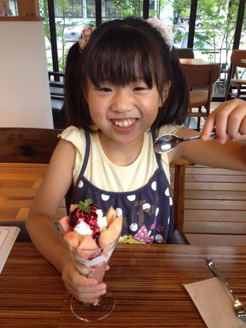 湯沢スイーツ~パティスリースフェールさんのパフェ!!