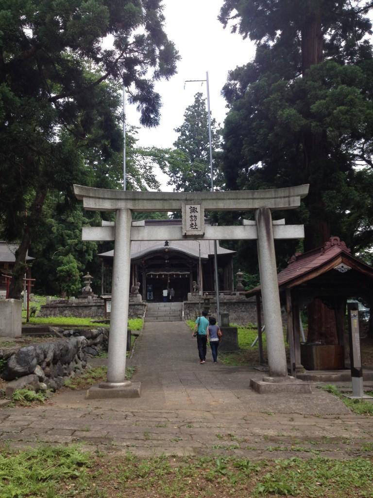 湯沢村の村社~諏訪社~